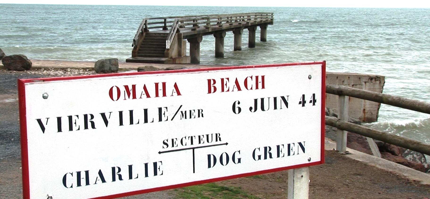Omaha Beach, Dog Green sign
